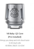 SMOK TFV8 Baby Coils Q2 Core (5 Stück)