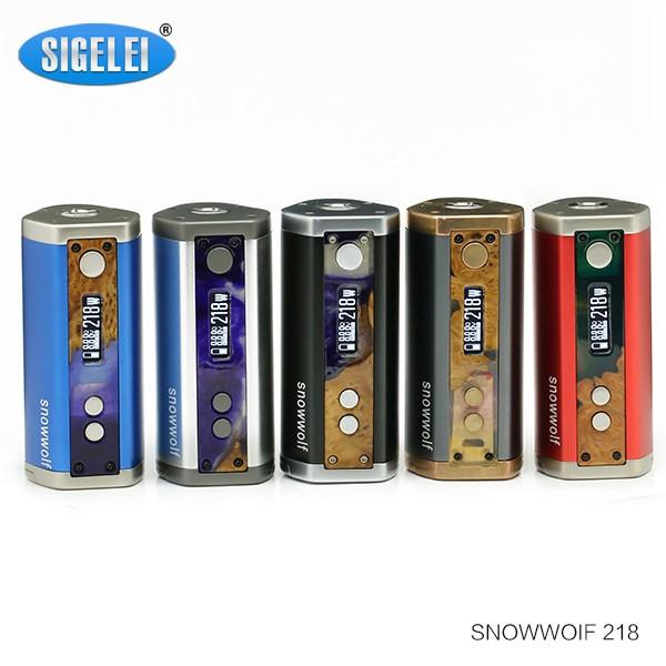 Sigelei Snow Wolf 218