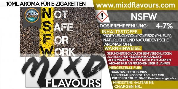 NSFW - MIXD Flavours Aroma 10ml
