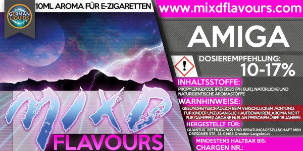 MIXD Flavours Aroma 10ml Amiga