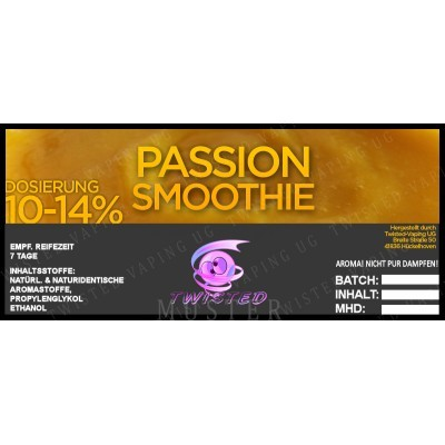 Twisted Flavors-Aroma (10 ml) Passion Smoothie