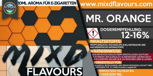 MIXD Flavours Aroma 10ml Mr. Orange