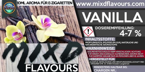 MIXD Flavours Aroma 10ml Vanilla
