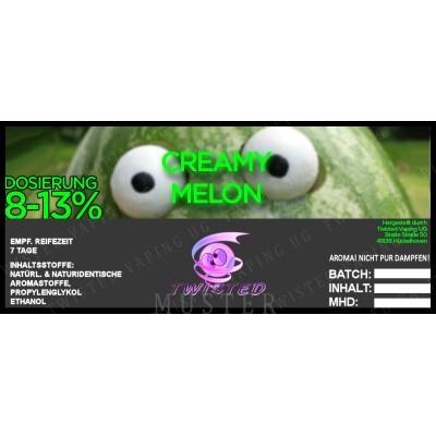 Twisted Flavors-Aroma (10 ml) Creamy Melon