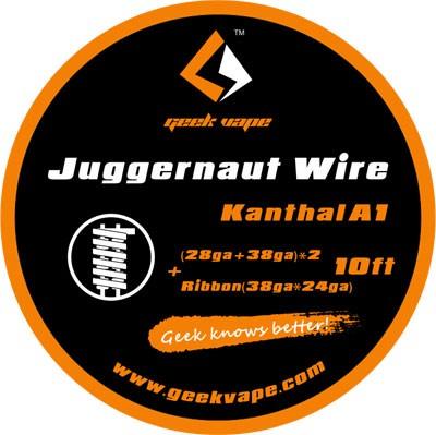 GeekVape Kanthal A1 Juggernaut Fertige Wicklung (2 Stück)
