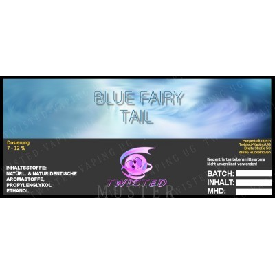 Twisted Flavors-Aroma (10 ml) Blue Fairy Tail
