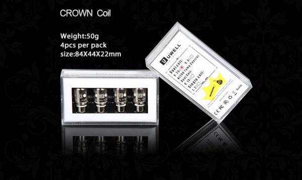 Uwell Crown Sub Ohm Verdampferköpfe (4er Pack)
