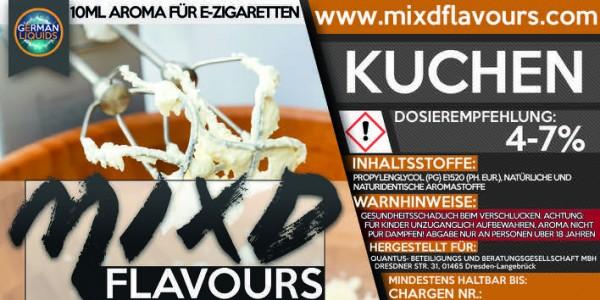 MIXD Flavours Aroma 10ml Kuchen