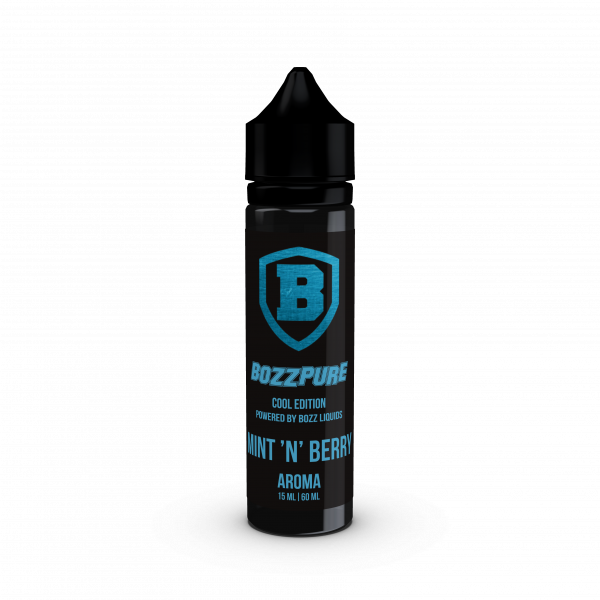 Mint `N´ Berry - BOZZPURE Longfill Aroma 15ml
