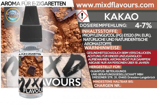 Kakao - MIXD Flavours Aroma 10ml