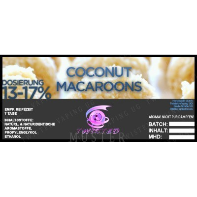 Twisted Flavors-Aroma (10 ml) Coconut Macaroons