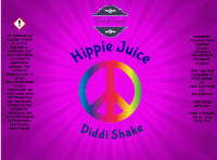 Hippie Juice - Diddi Shake Liquid 120ml