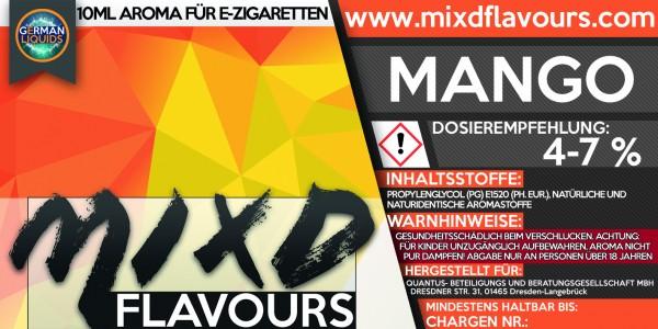 MIXD Flavours Aroma 10ml Mango