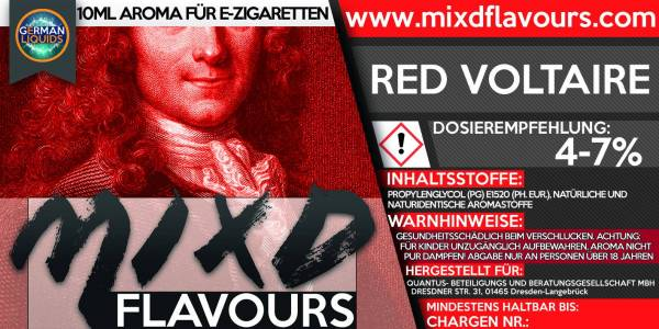 Red Voltaire - MIXD Flavours Aroma 10ml