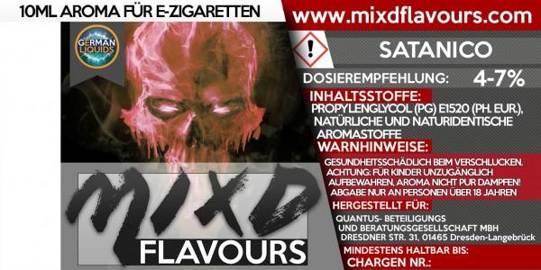 Satanico - MIXD Flavours Aroma 10ml
