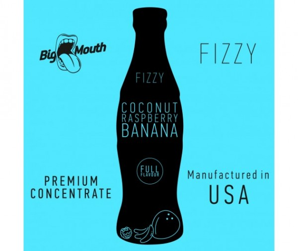 Big Mouth Aroma Fizzy Coconut Raspberry Banana 10ml