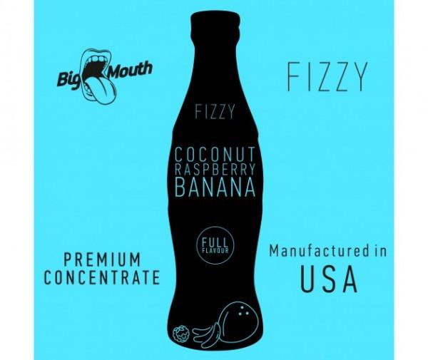 Big Mouth Aroma Fizzy Coconut Raspberry Banana 10ml