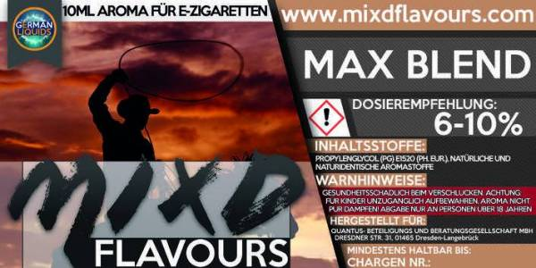 Max Blend - MIXD Flavours Aroma 10ml