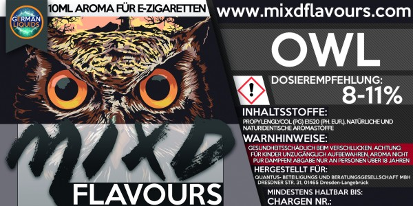 Owl - MIXD Flavours Aroma 10ml