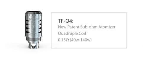 Smok TFV4 Q4 Verdampferkopf mit 0,15 Ohm