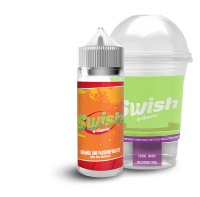 Orange und Passionfrucht - Swish E-Liquid 100ml 0mg