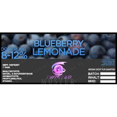 Blueberry Lemonade - Twisted Flavors Aroma 10ml