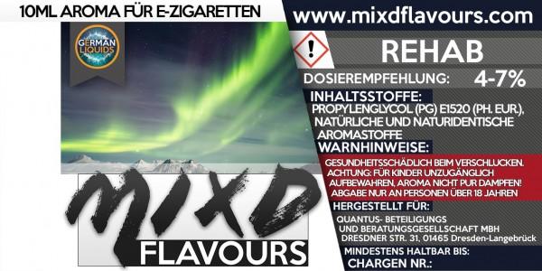 MIXD Flavours Aroma 10ml Rehab