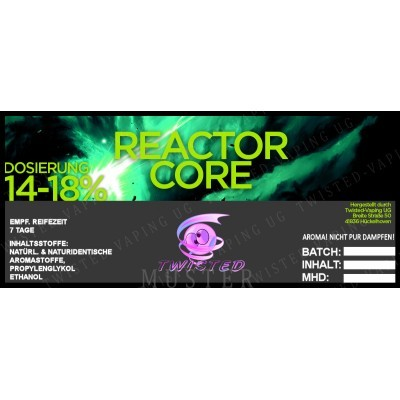 Twisted Flavors-Aroma (10 ml) Reactor Core
