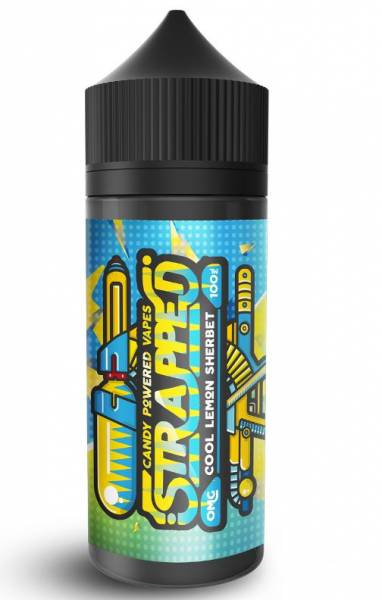 Cool Lemon Sherbet - Strapped E-Liquid 100ml 0mg