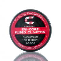 Tri-Core Fused Clapton Ni80 - Coilology  Draht