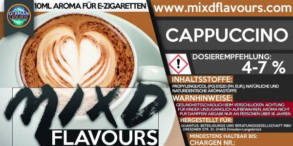 Cappuccino - MIXD Flavours Aroma 10ml