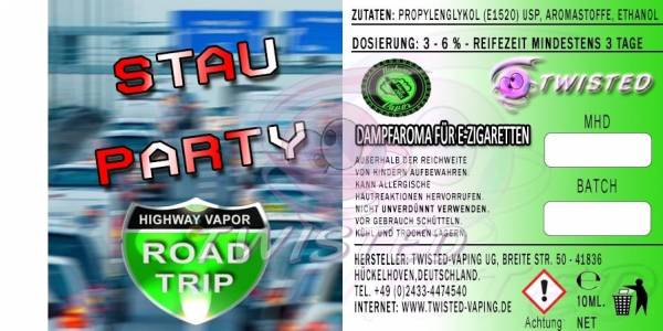 Stau Party (Road Trip) - Twisted Flavors Aroma 10ml