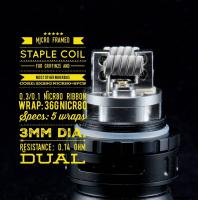 Micro Framed Staple Coil (2 Stück) by Tasty Ohm Coils
