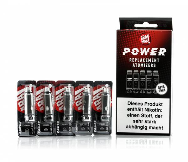 Aramax Power Ersatzcoil 5er Pack