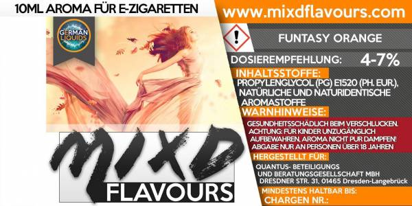 Funtasy Orange - MIXD Flavours Aroma 10ml