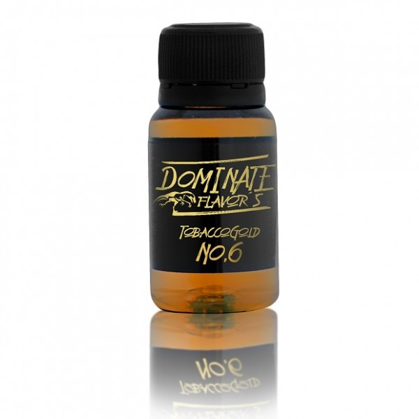 TobaccoGold No.6 Aroma 15ml von Dominate Flavors