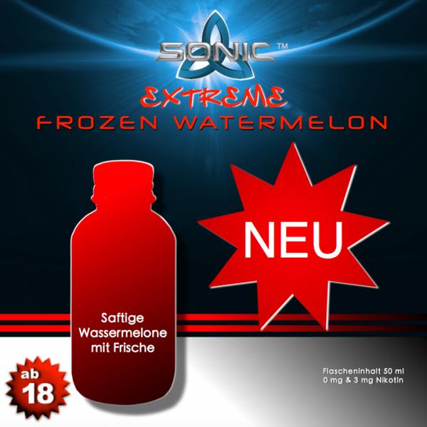 Sonic Extreme Liquid 50ml Frozen Watermelon