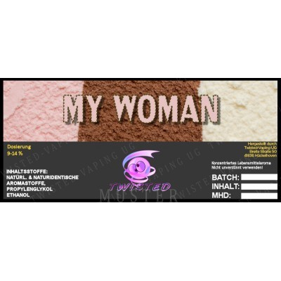 Twisted Flavors-Aroma (10 ml) My Woman