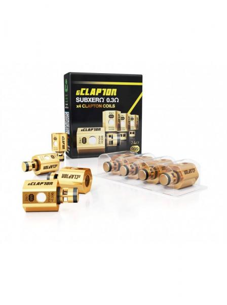 Atom gClapton OVC Coils (4Stück) passend für Herakles & Aspire Atlantis, Atlantis 2, Atlantis Mega &
