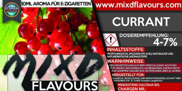 Currant - MIXD Flavours Aroma 10ml