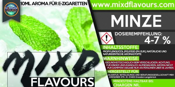 MIXD Flavours Aroma 10ml Minze