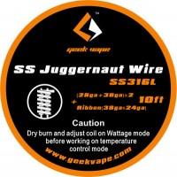 GeekVape SS Juggernaut Wire Draht