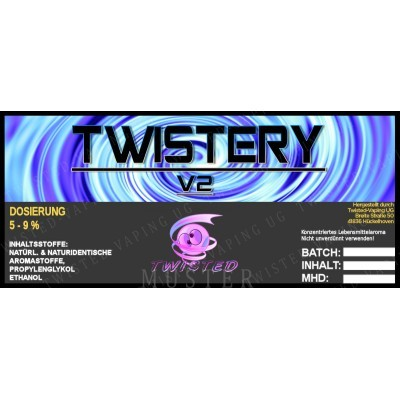 Twisted Flavors-Aroma (10 ml) Twistery V2