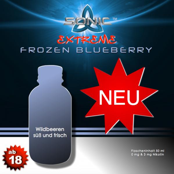 Sonic Extreme Liquid 50ml Frozen Blueberry