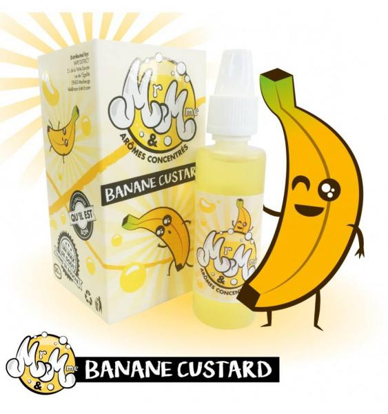 Banane Custard - Mr & Mme Aroma 30ml