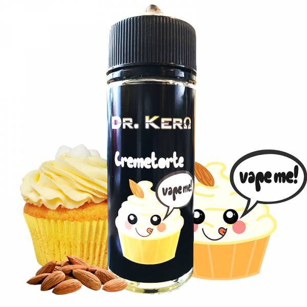 Cremetorte - Dr. Kero Liquid 100ml 0mg