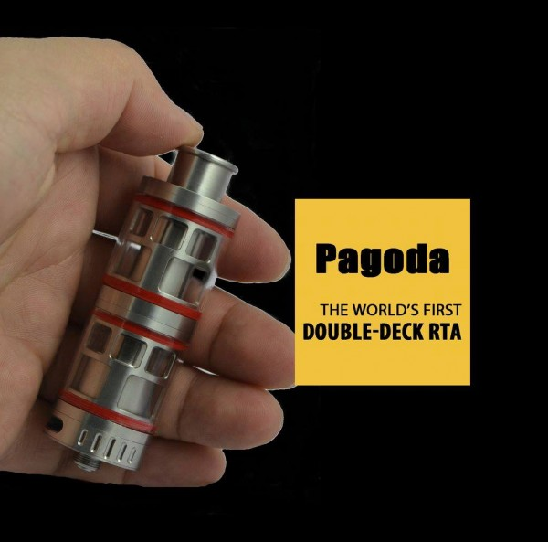 Lohas Vapes Pagoda Doppel Deck RTA