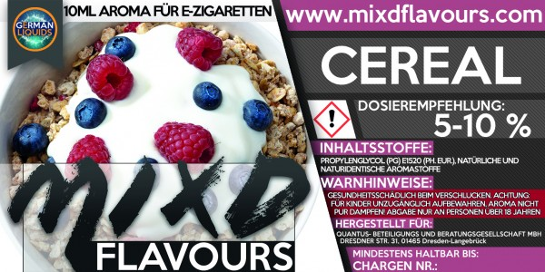 MIXD Flavours Aroma 10ml Cereal