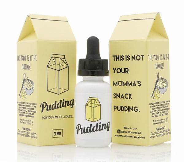 The Vaping Rabbit E-Liquid 30ml The Milkman Pudding