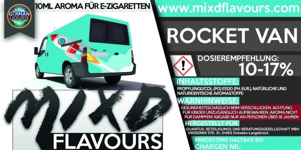 MIXD Flavours Aroma 10ml Rocket Van